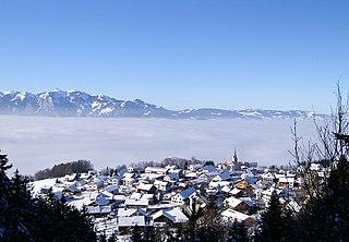 Übersaxen Place in Vorarlberg, Austria