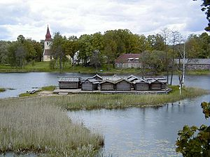 History of Latvia - Āraiši lake dwelling site dates back to the late Iron Age