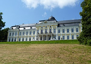 Rothschild family - A house formerly belonging to the Viennese branch of the family (Schillersdorf Palace).