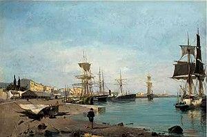 Κωνσταντίνος Βολανάκης - Θαυμάζοντας τα πλοία.jpg