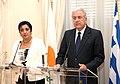 Συνάντηση ΥΠΕΞ Δ. Αβραμόπουλου με ΥΠΕΞ Κυπριακής Δημοκρατίας Ερ. Κοζάκου-Μαρκουλλή (7976554565).jpg