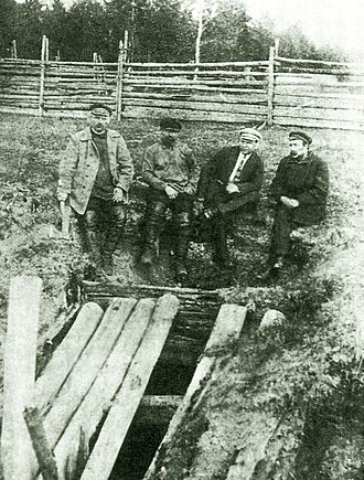 Grand Duke Konstantin Konstantinovich of Russia - Mine shaft in Alapaevsk where remains of three of KR's sons were found