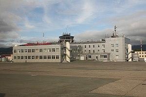Yuzhno-Sakhalinsk Airport - Image: Аэродромы и терминалы терминал, Южно Сахалинск Хомутово RP115997