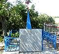Братська могила радянських воїні, с. Бережне (Десятиріччя Жовтня), на кладовищі ,Більмацький район, Запорізька обл.jpg