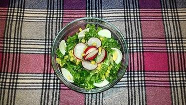 Велигденска зелена салата