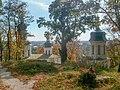 Верхівки споруд Іллінського монастиря, Чернігів.JPG