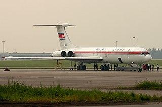 1983 Chosonminhang Ilyushin Il-62 crash 1983 passenger aircraft crash near Labé, Guinea