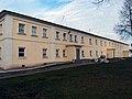 Кельи у северной стены, Николо-Пешношский монастырь село Рогачево (посёлок Луговой).jpg