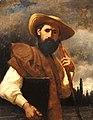 Никодемас Сильванавичюс Автопортрет в соломенной шляпе.jpg