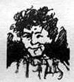 """Н. П. Чехов, карикатура """"Свадебный сезон"""" (Петрушка ), 1881г.jpg"""