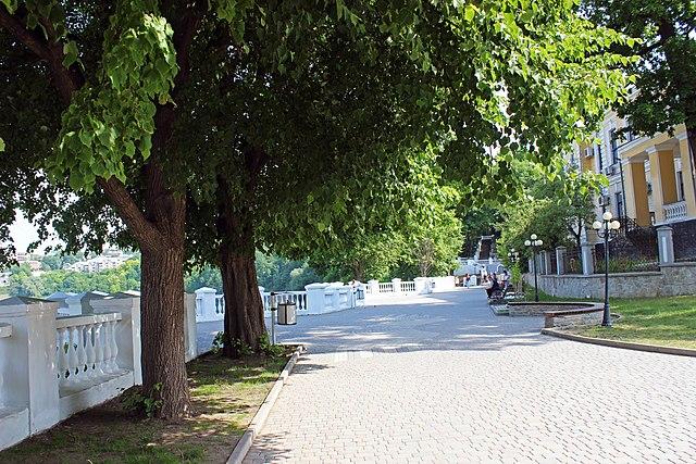 Оглядова тераса, Кам'янець-Подільський. Автор фото — Сарапулов, ліцензія CC-BY-SA-4.0