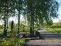 Памятник на братской могиле у хутора Медведки. Вид сбоку.jpg