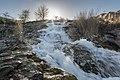 Половецький степ, водоспад.jpg