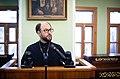 Протоиерей Владимир Шмалий на конференции, посвящённой протоиерею Георгию Флоровскому.jpg