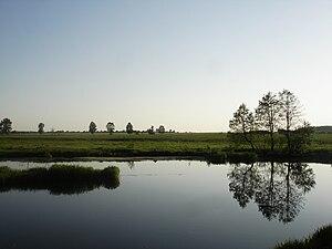 Sudogda River - Sudogda River near of the Berezhki village
