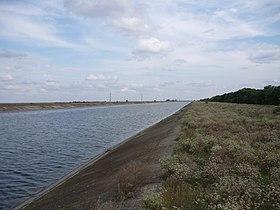 Северо-Крымский канал у Джанкоя