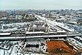 Строительство станции метро «Нижегородская» Некрасовской линии (декабрь 2018) 15.jpg