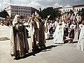 Театралізоване свято на честь відкриття заново відбудованої дзвіниці Михайлівського золотоверхого монастиря.jpg