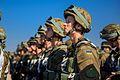 Тренування Нацгвадійців до параду військ з нагоди 25-ї річниці незалежності України IMG 5862 (29007670646).jpg
