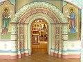 Церковь Богоявления в с. Красном, Костромской обл., построена в 1592 г., колокольня XVII в..jpg