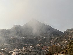Jabal Atherb of the Asir Mountains near Ḥawālah in Bareq, 2013