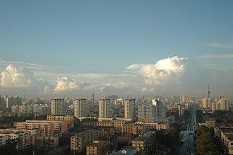 Chaoyang District, Changchun - Image: 我家窗外(红旗街) panoramio