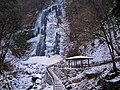 氷結した白猪の滝 (Frozen Shirai Waterfall) 13 Feb, 2012 - panoramio.jpg