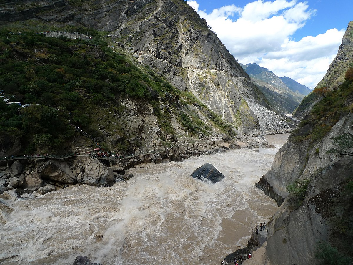 Tiger Leaping Gorge - Wikipedia