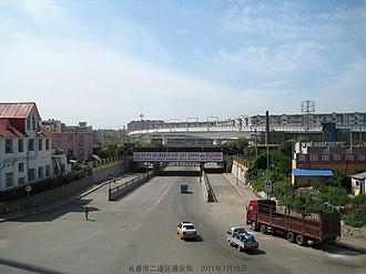 Erdao District - Image: 长春市二道区通安街 tong an jie panoramio