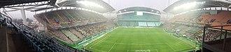 Jeonju World Cup Stadium - Image: 전주월드컵경기장 내부 전경