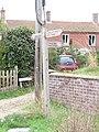 -2018-09-12 Finger post sign for Paston Way, The Street, Knapton, Norfolk (1).JPG