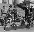 ...) Men unloading helmets for victory loan LCCN2016819648 (cropped).jpg
