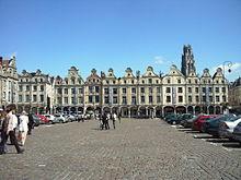 Centra placo de Arras