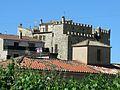 062 Castell de Vallfogona de Riucorb, angle nord-est, des de la carretera.jpg