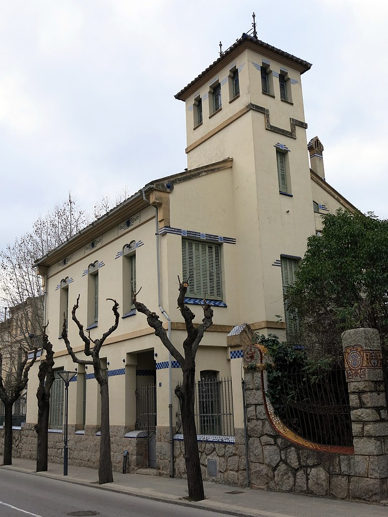 File 080 casa barraquer passeig 7 la garriga jpg wikimedia commons - Casa la garriga ...