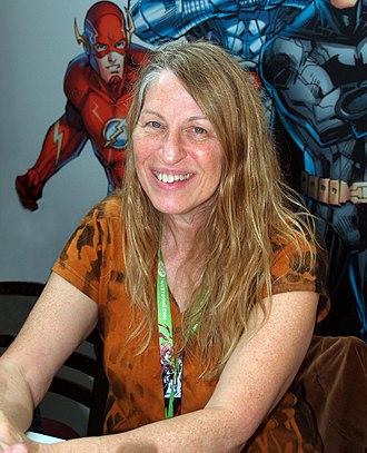 Jan Duursema - Duursema at the 2015 New York Comic Con