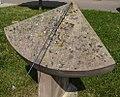 1024 Frauenstein, Sonnenuhr nahe beim Silbermannbrunnen-6701.jpg