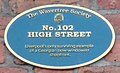 102 High Street, Wavertree plaque (cropped).jpg
