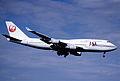 102ar - JAL - Japan Airlines Boeing 747-446; JA8087@ZRH;09.08.2000 (5157678536).jpg