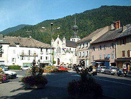 The centre of Thônes