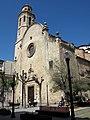 10 Santa Maria de Calella, façana oest i campanar.JPG