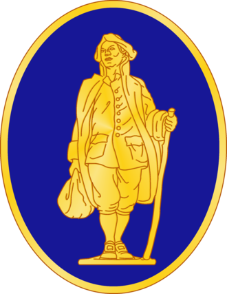 111th Infantry Regiment (United States) - Image: 111 Inf Rgt DUI