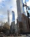 111 W57 & One57 & CP Tower fr Col Cir jeh.jpg
