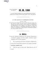 116th United States Congress H. R. 0000180 (1st session) - Build America Act of 2019.pdf