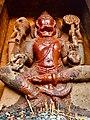 11th 12th century Iswara temple, Kamaleshwara Kalleswara Kamlishvara, Jalasangvi Karnataka India - 13.jpg