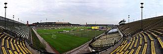 Strahov Stadium - Strahov Stadium from southeast