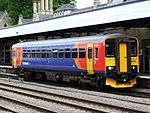 153310 at Lincoln railway station, England - DSCF1310.JPG