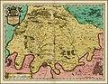 1642 map of Ile de France by Willem Janszoon Blaeu.jpg