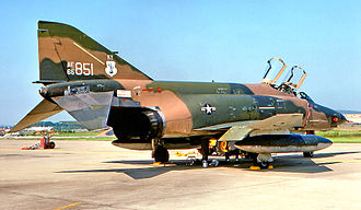 835th Air Division - Image: 165th Tactical Reconnaissance Squadron Mc Donnell RF 4C 25 MC Phantom 65 0851