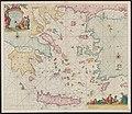 1680s map - Paskaerte vande archipel en de eylanden daer omtrent gelegen, als Candia, Serigo en Rodus, tusschen Golfo de Lepanto, Constantinopolen en C. Serdeni in Natolia.jpg